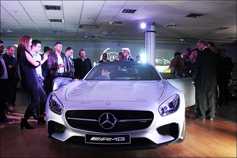 Mercedes AMG GT Launch 2015