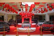 Mercedes Chinese New Year Display