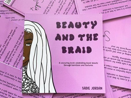 Beauty and the Braid - Spreading Body Positivity through Colouring