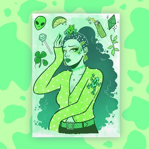 Frog Princess Print