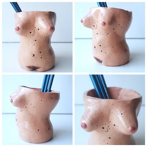 Boobie Pencil Holder