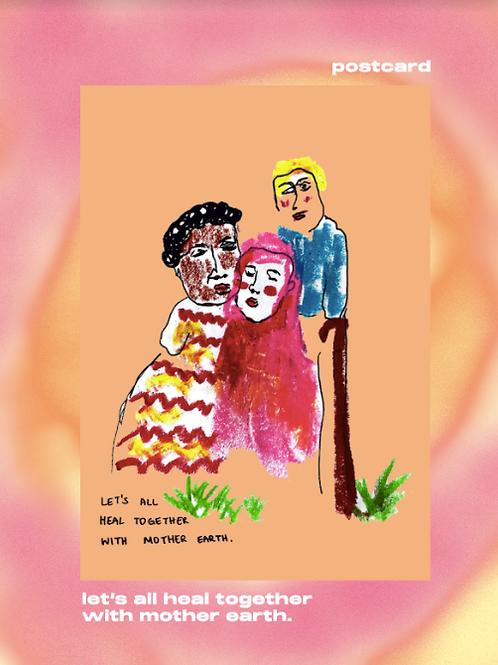 Healing Postcard