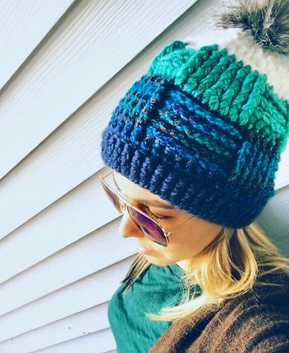 The Anthropologie Crochet Beanie PATTERN