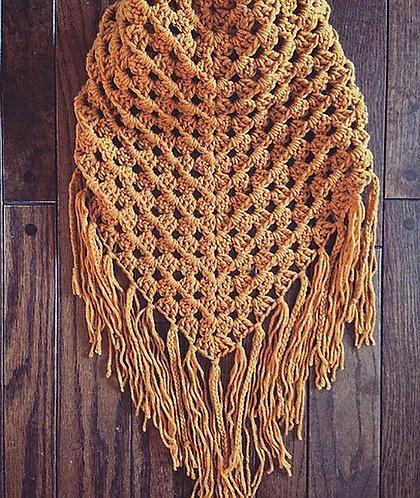 The Interlace Kerchief Crochet PATTERN