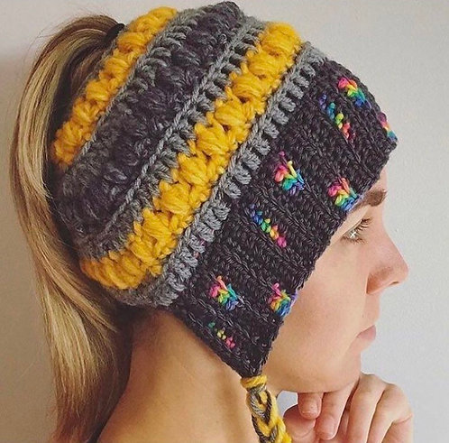 The Bun Bonnet Crochet PATTERN