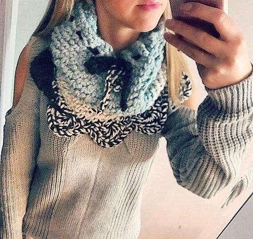 The Cupid Cowl Crochet PATTERN