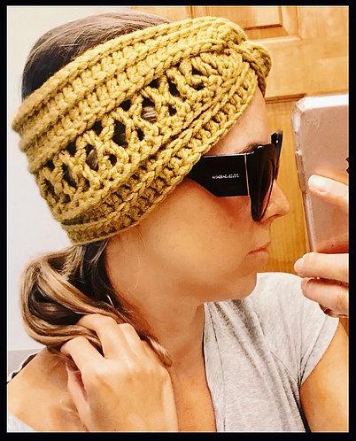 The Keepin It Classy Headwrap CROCHET PATTERN