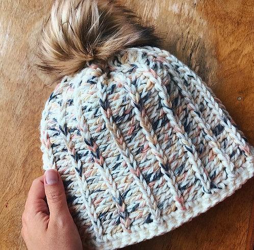 The City Lights Beanie Crochet PATTERN