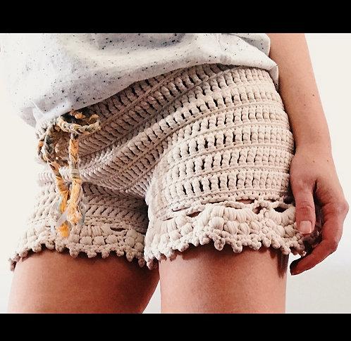 The Boho Beach Bloomers Crochet PATTERN