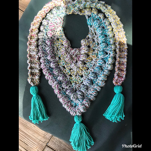The Lake Life Scarf Crochet PATTERN