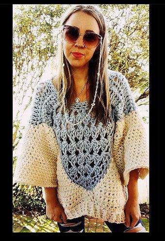 The Boho Arrow Sweater CROCHET PATTERN