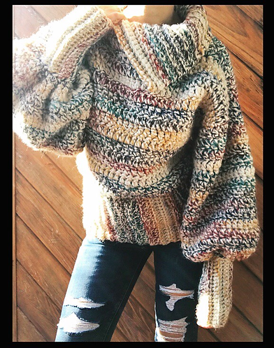 The Collab Sweater CROCHET PATTERN