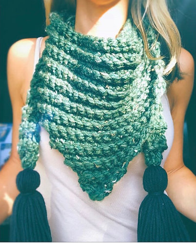 The Knitty Crochet Scarf PATTERN