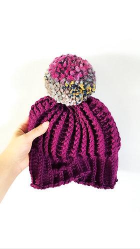 The Headwrap Twisted Beanie Crochet PATTERN