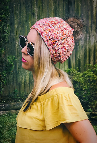 The Forever Beanie Crochet PATTERN