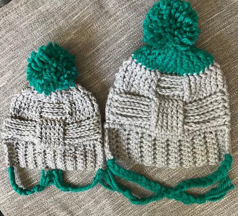 The Crossroads Beanie Crochet PATTERN