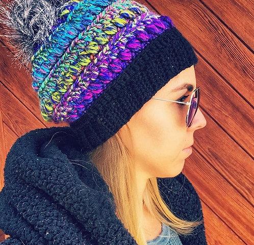 The Maddy Beanie Crochet PATTERN