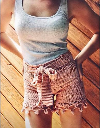 The Its A Wrap Boho Lace Shorts CROCHET PATTERN