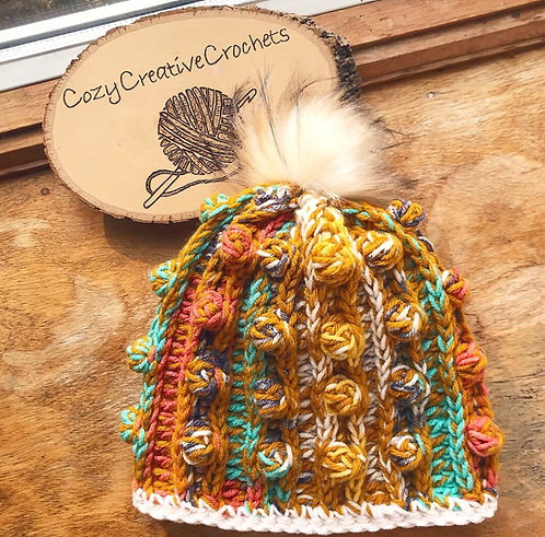 The Autumn Love Beanie Crochet PATTERN