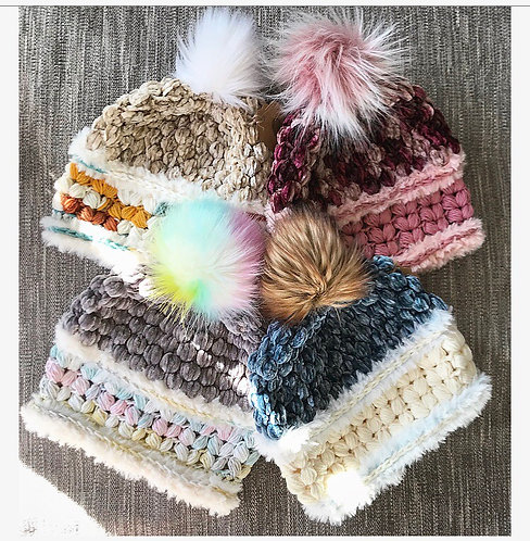 The ALL The Feels Beanie CROCHET PATTERN