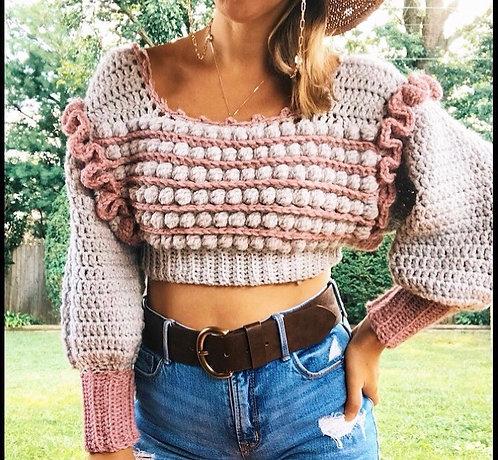 The Cozy Creative Sweater CROCHET PATTERN