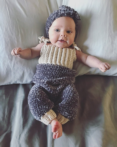 The Baby Doll Crochet Velvet Jumper PATTERN