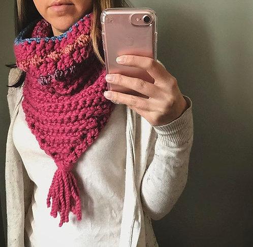 The Ripple Scarf Crochet PATTERN