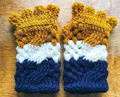 The Totally Twisted Gloves Crochet PATTERN