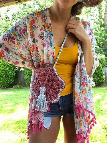Boho Style Crossbody Bag