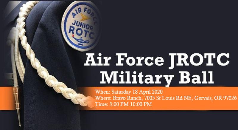 Air Force JROTC Military Ball Web Page B
