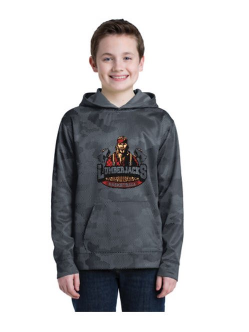 Youth Camo Hex Performance Hoodie