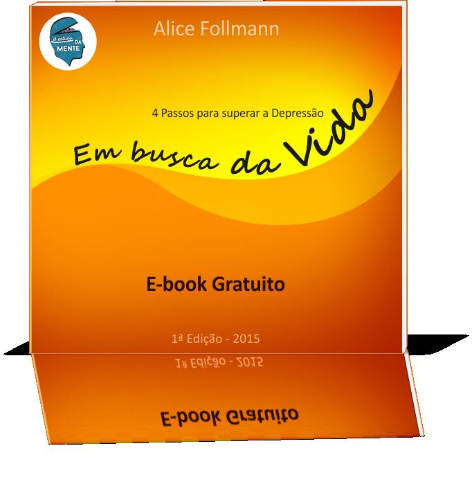 E-book Em busca da Vida  - 4 Passos para superar a Depressão