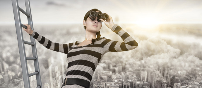 visão positiva do futuro, recuperação da depressão, mulher