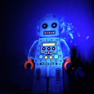ROBOT LEGO DOOR UV for HOWARD JUNIOR SCHOOL, KING'S LYNN