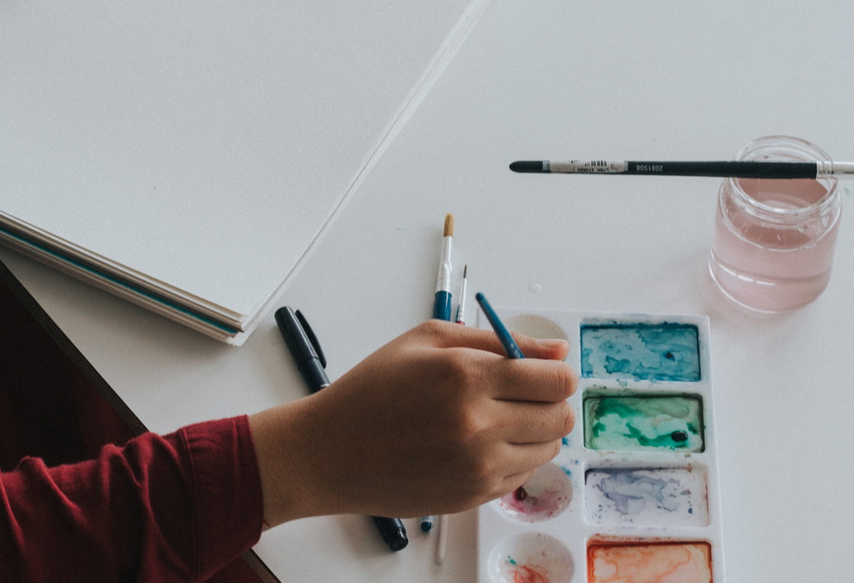 By working creatively you can find joy. It can help you see things in a different way and have fresh insights.