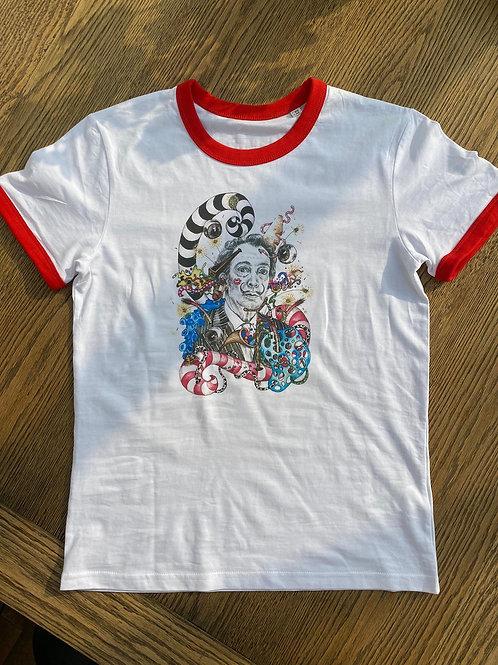 Dali's Kiss Unisex T-shirt