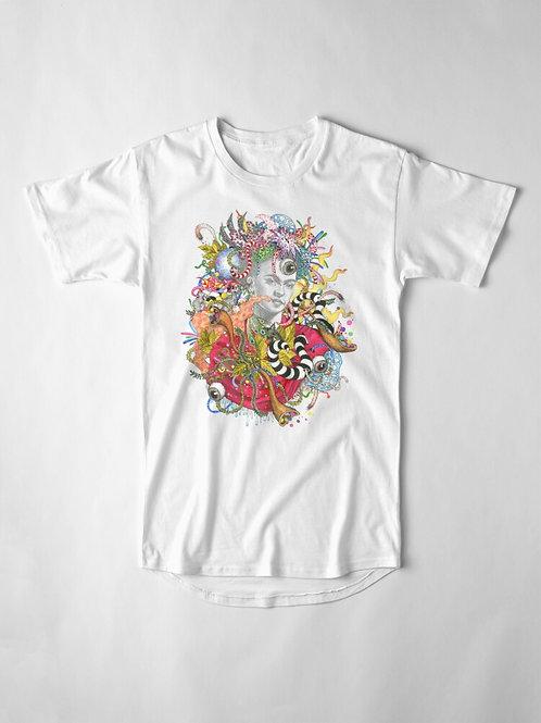 Long Design Frida T-shirt