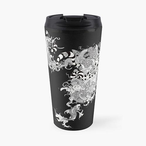 Koi Bubbles Travel Mug