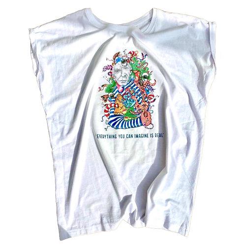 Picasso's Eye White T-shirt