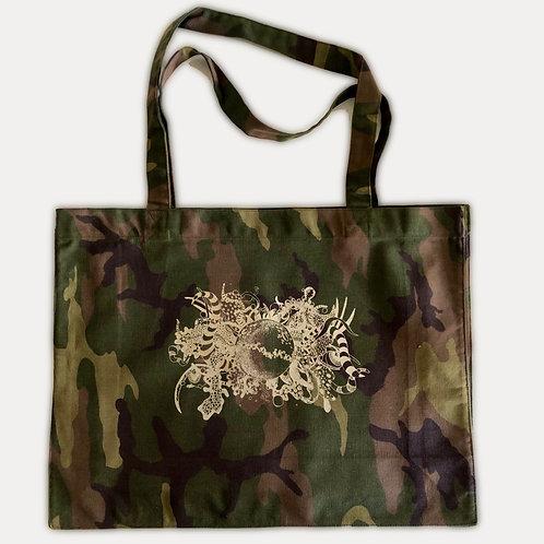 Light Golden 'Damaged' Shopping Bag