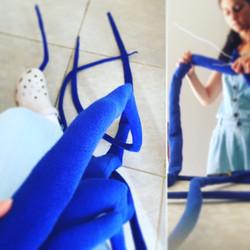 A Long Blue object