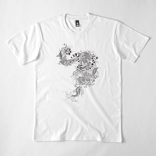 Koi Fish Bubbles Premium T-Shirt