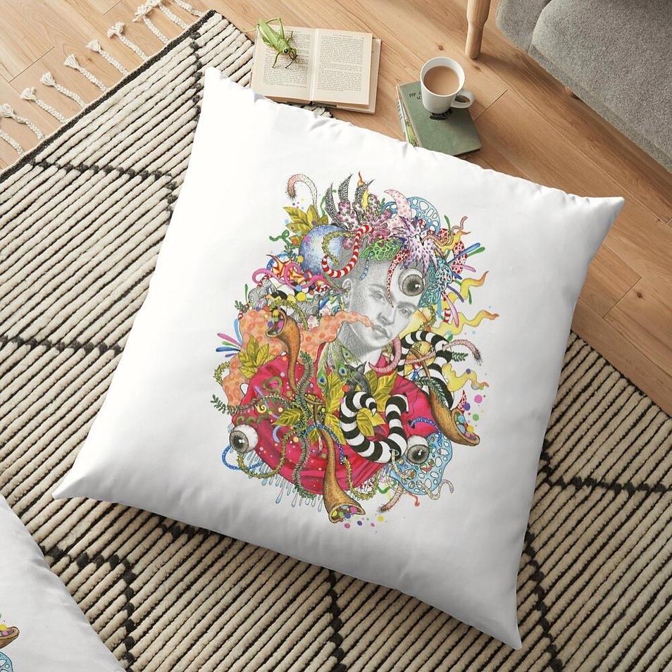 Detail Floor Pillow