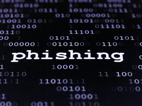Phishing - Cyber Criminals don't care who they target!