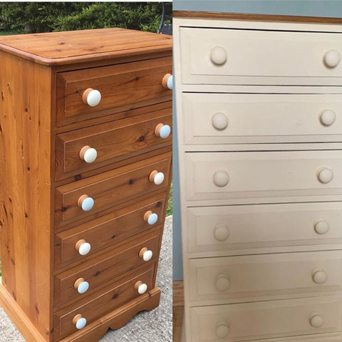 Tall chest of draws from £75
