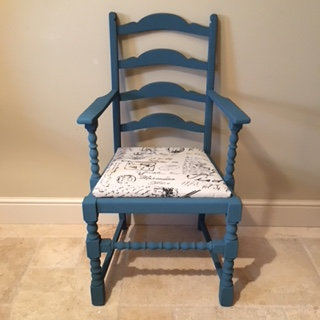 Individual Statement Chair - Vintage Teal