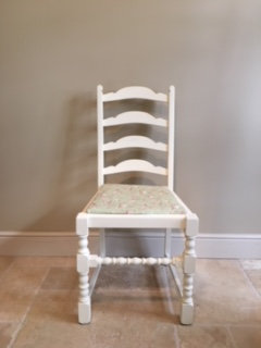 Individual Statement Chair - Cream Floral