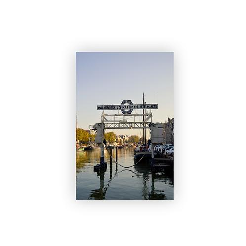 Ansichtkaart Dordrecht, Haven