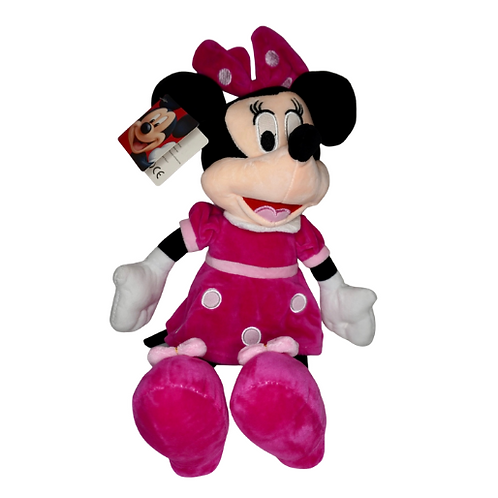 Roze Grote Minnie Mouse knuffel | 40 cm