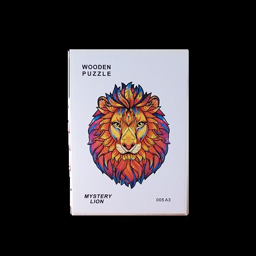 A3 Dierenpuzzel   Mystery Lion #005